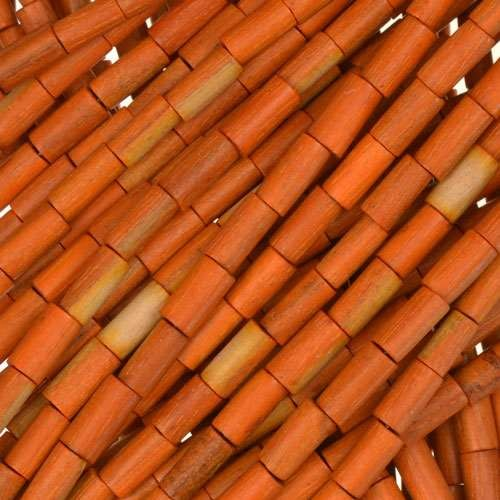 Sebucao Wood Tube 2x6mm - strand