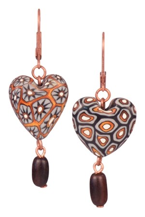 Heart of a Leopard Samunnat Earrings