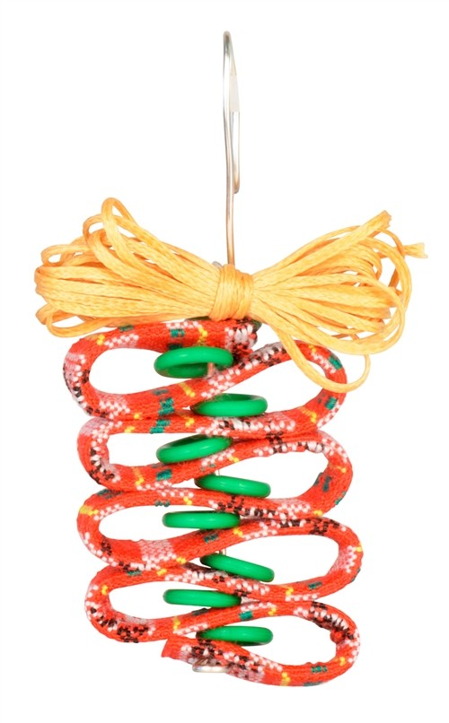 Ribbon Candy Flat Cotton Cord Ornament