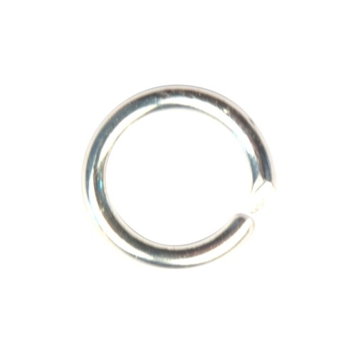 Jump Ring 10mm 14g - Silver Plated