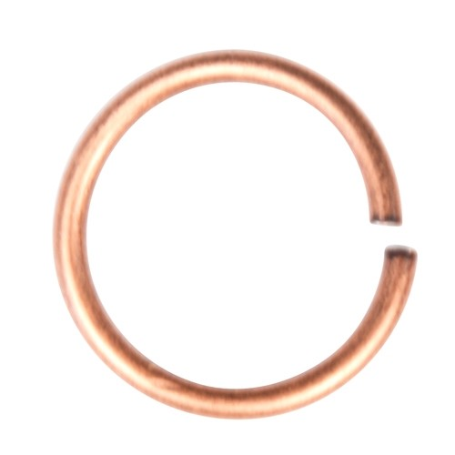 Jump Ring 15mm 14g - Antique Copper