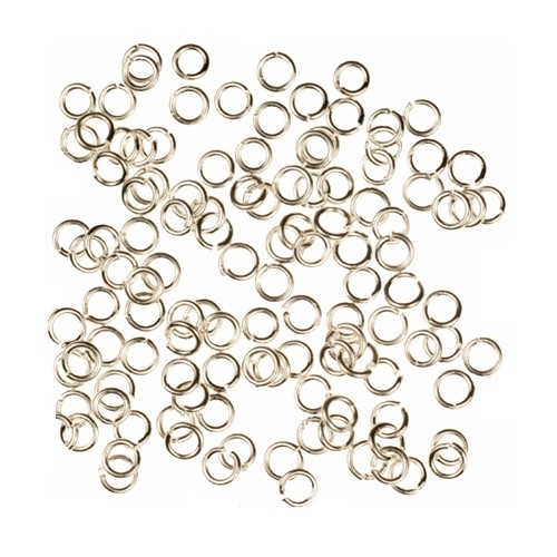 Jump Ring 3mm 22g (50) - Silver