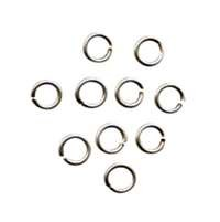 Jump Ring 4mm 20g (100) - Antique Silver
