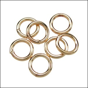Jump Ring 4mm 21g (100) - Electro Plated Gold