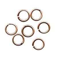 Jump Ring 6mm 18g (40) - Antique Copper