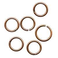 Jump Ring 8mm 18g (30) - Antique Copper