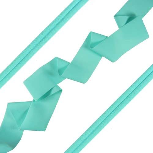 Lycra Ribbon - Cyan - per foot
