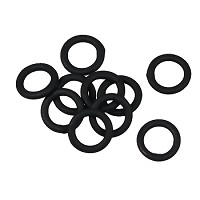 Soldered Ring 6mm 18g (40) - Nite Black