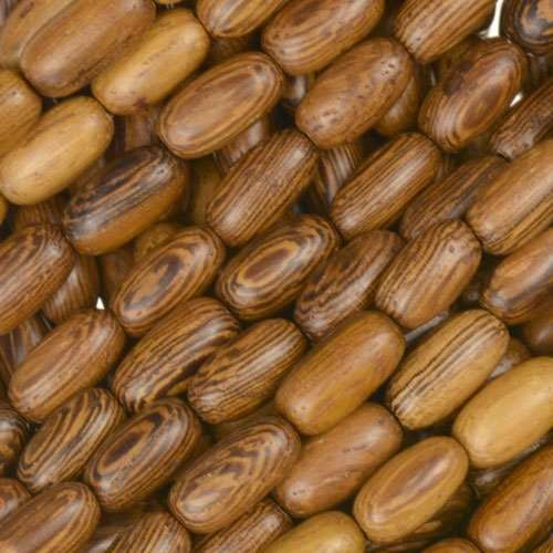 Robles Wood Bead Rice Beads 5x10mm