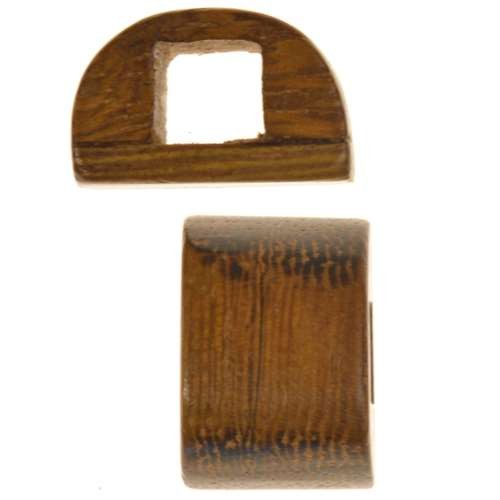 Robles Wood Slide Large Hole Bar 10x15mm - piece