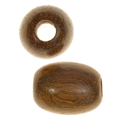 Robles Wood Slide Large Hole Oval Plain 20x15mm