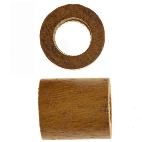 Robles Wood Slide Large Hole Tube 10mm - piece