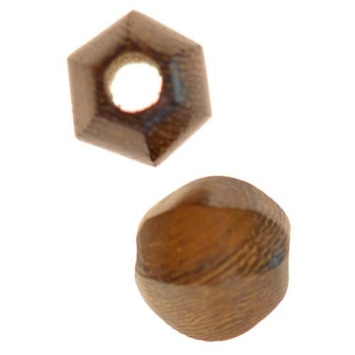 Robles Wood Slide Large Hole Round Six-Sided 15mm - piece