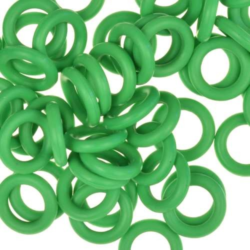 10mm Rubber O-Ring Spacer - Grass Green