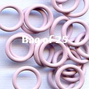 12mm Rubber O-Rings BAG of 25 - Light Lilac