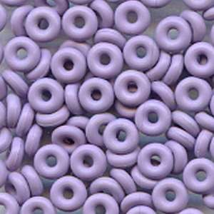 3mm Rubber O-Ring Bag of 25 Spacers - Heather