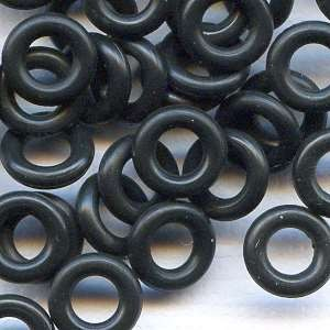 7.25mm Rubber O-Ring Spacer - Black