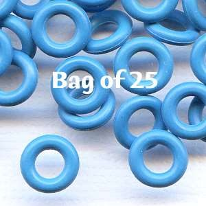 7.25mm Rubber O-Rings BAG of 25 - Lagoon