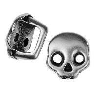 Slider Regaliz Skull - Antique Silver