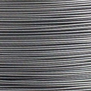 Soft Flex Beading Wire .019 diameter (10ft) - Satin Silver