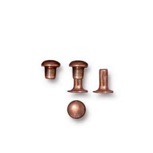 TierraCast Snap Rivets 4mm Bag of 10 - Antique Copper