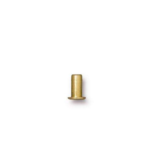 TierraCast Rivet Eyelet 5.3mm - Antique Gold