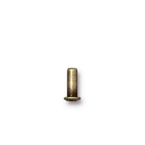 TierraCast Rivet Eyelet 6.8mm - Antique Brass
