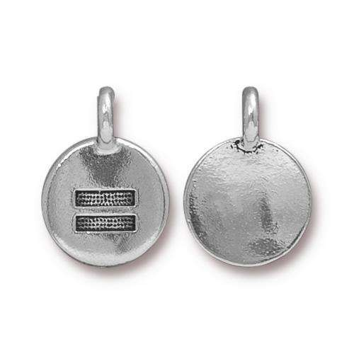 TierraCast Charm Equality - Silver Plated