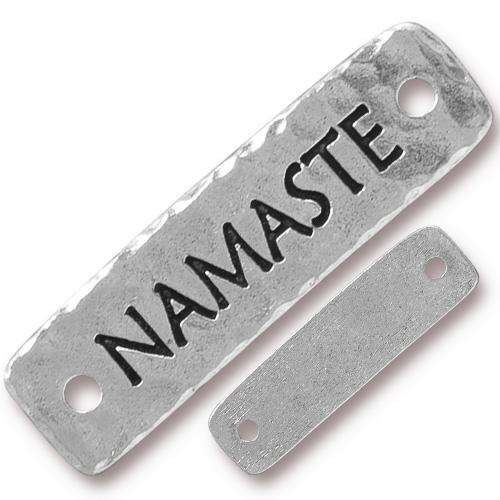 TierraCast Link Namaste - Silver Plated