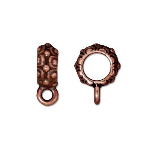 TierraCast Bail Oasis - Antique Copper