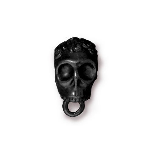 TierraCast Bail Skull - Black Plated