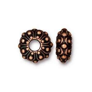 TierraCast Bead Casbah Large Hole - Antique Copper