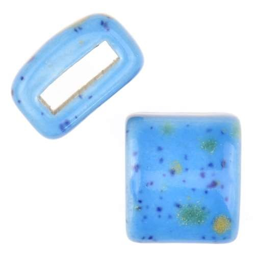 Clay River Porcelain Slider Flat 10mm Large - Caprice Blue