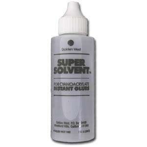 Super Solvent for Super New Glue - 2 oz.