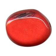 Tagua Skipping Stone - Coral