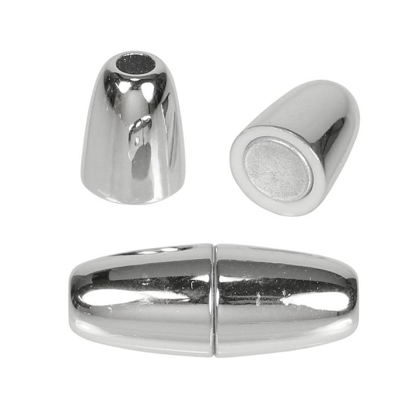 4mm round Acrylic magnet CHROME