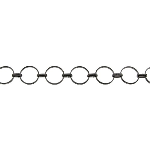 Circle O Chain - Gunmetal