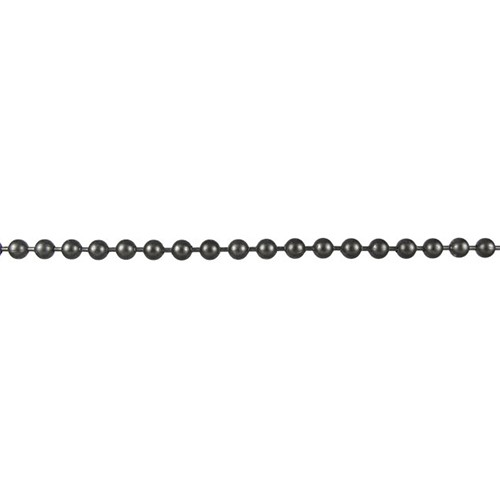 Ball Chain 3.2mm - Matte Gunmetal