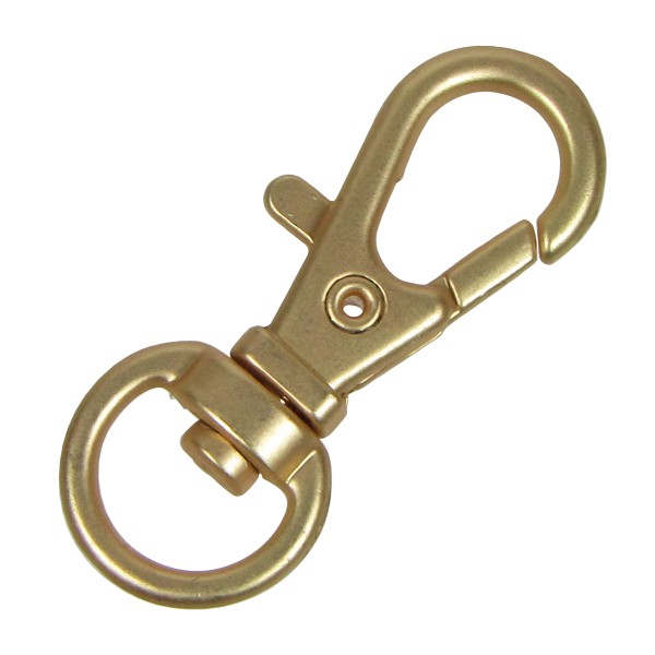 32mm Swivel lobster clasp - Matte Gold