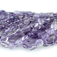Lavender Amethyst 4-6mm Pebble 15-16
