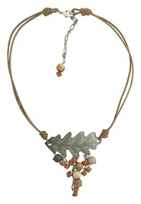 Oak Cluster Necklace