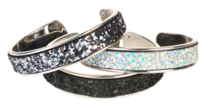 Blingy Leather Bangles