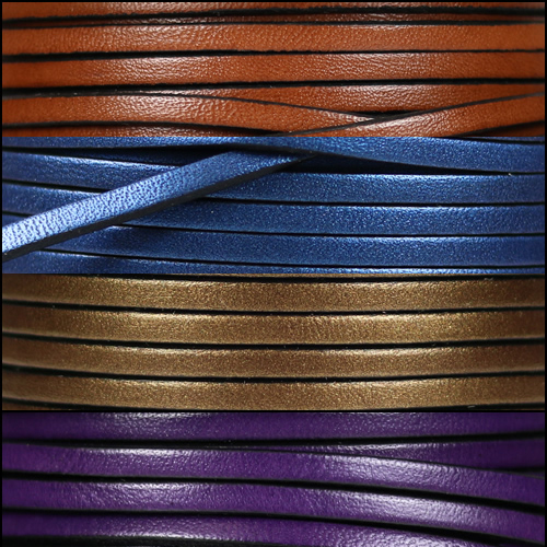 3mm Flat Leather