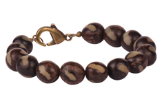 Buri Seed Bead Bracelet