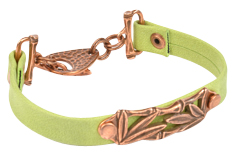 Bamboo Shoots Arizona Leather Bracelet