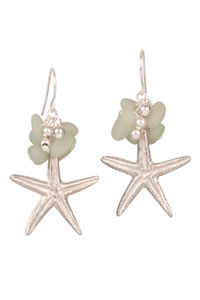 Caribbean Sea Star Earrings