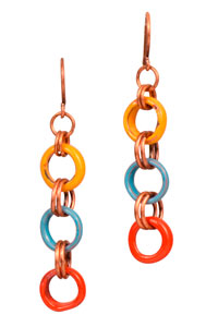 Circles of Spring Earrings
