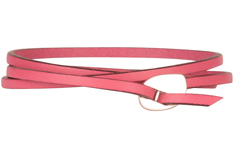 First Blush Flat Leather Cord Bracelet