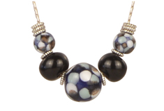 Floating Spots Claycult Ceramic Bead Necklace