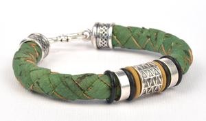 Fresh Cut Portuguese Cork Cord Bracelet